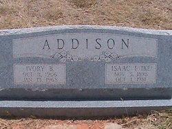 Isaac Isaiah Ike Addison