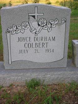 Joyce <i>Durham</i> Colbert