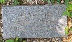 Lizzie <i>Connor</i> Blanton