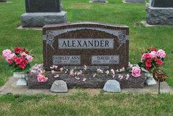 Shirley Ann <i>Folkers</i> Alexander