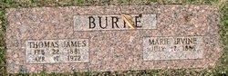 Marie C <i>Irvine</i> Burke