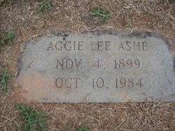 Aggie Lee Ashe
