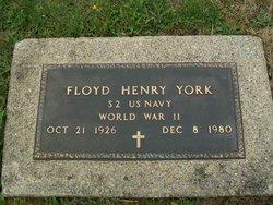 Floyd Henry York