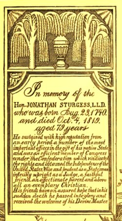 Jonathan Sturges