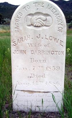 Sarah Jane <i>Lowe</i> Darrington