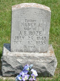 Nancy Ann <i>Short</i> Boze