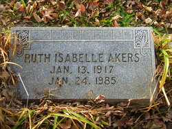 Ruth Isabelle <i>Day</i> Akers