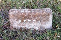 Betty Elizabeth <i>Dunn</i> Denney