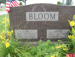 Janie Virginia <i>Patton</i> Bloom