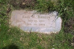 Ruth Maurine <i>Davis</i> Hancey