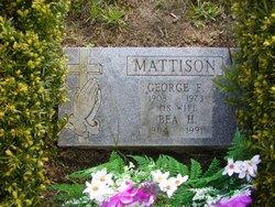Beatrice Hazel <i>Wiley</i> Mattison