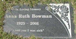 Anna Ruth Bowman