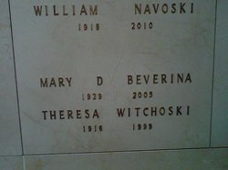 Theresa M. <i>Beverina</i> Witchoski