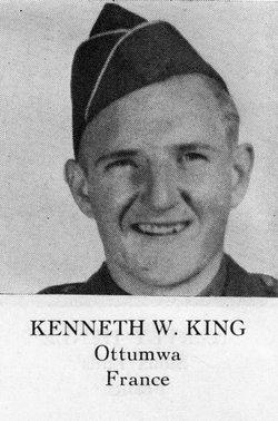 Pvt Kenneth W King