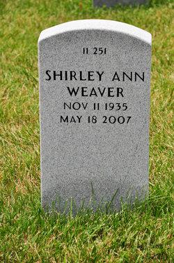Shirley Ann Weaver
