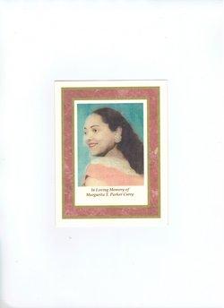 Margurita Teresa Margaret <i>Parker</i> Curry