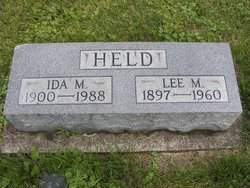 Ida May <i>Todd</i> Held