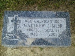 Matthew John Oscar Mier