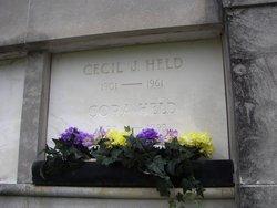 Cecil J Held