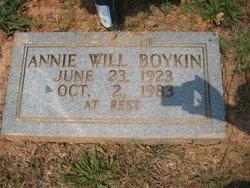 Annie <i>Will</i> Boykin