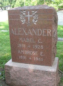 Mabel C Alexander