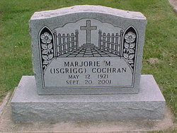 Marjorie M. <i>Isgrigg</i> Cochran