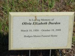 Olivia Elizabeth Durden