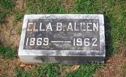 Ella <i>Ballenger</i> Allen