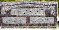Margaret D. Maggie Thomas