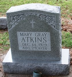 Mary <i>Gray</i> Atkins