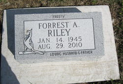 Forrest A. Frosty Riley