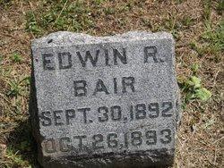 Edwin R Bair