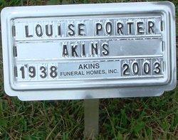 Louise <i>Porter</i> Akins