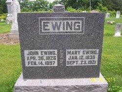Mary <i>McLeish</i> Ewing