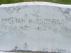 Lillian K Anderson