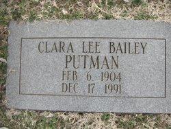 Clara Lee <i>Bailey</i> Putman
