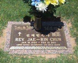 Rev Jae Rin Chun