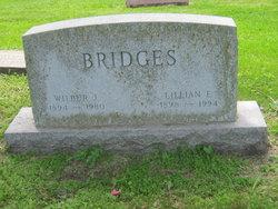 Lillian E <i>Getty</i> Bridges