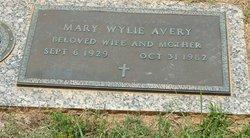 Mary Naydean <i>Wylie</i> Avery