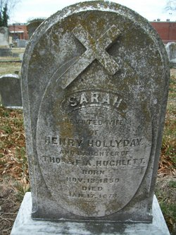 Sarah <i>Hughlett</i> Hollyday