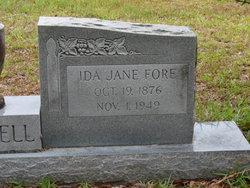 Ida Jane <i>Fore</i> Campbell