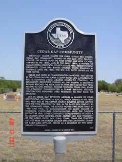 Cedar Gap Cemetery