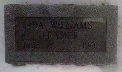 Ida Evelyn <i>Williams</i> Frasier
