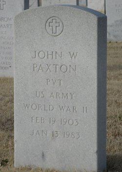 John William Paxton