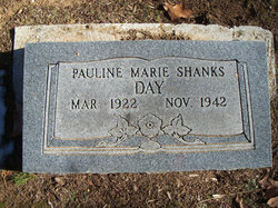 Pauline Marie Sis <i>Shanks</i> Day