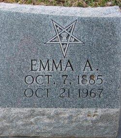 Emma A <i>Reid</i> Dean