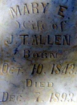 Mary Elizabeth <i>Bates</i> Allen