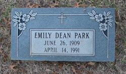 Emily V. <i>Dean</i> Park