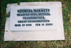 Georgia <i>Lane</i> Barnett