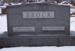 Edna Maude Maud <i>Kendall</i> Brock